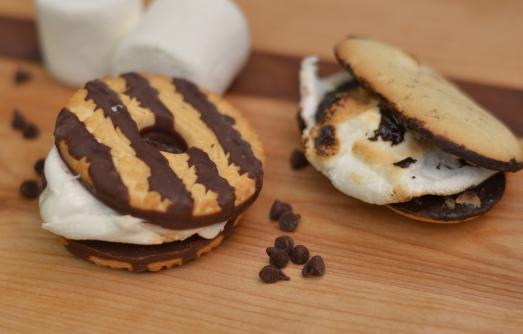 a new spin on s'mores