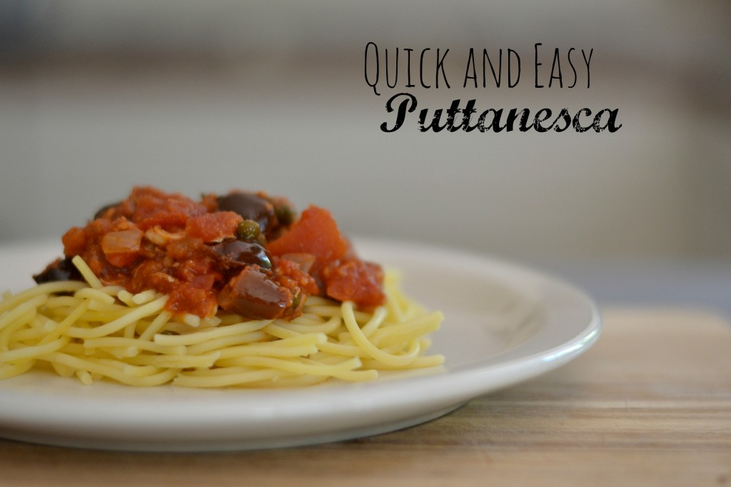 Quick and Easy Puttanesca
