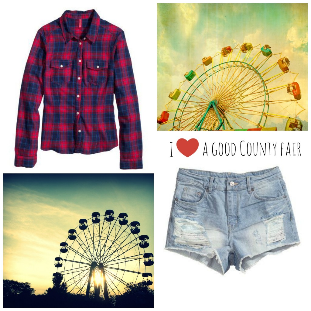 Where is June | I {heart} a good county fair