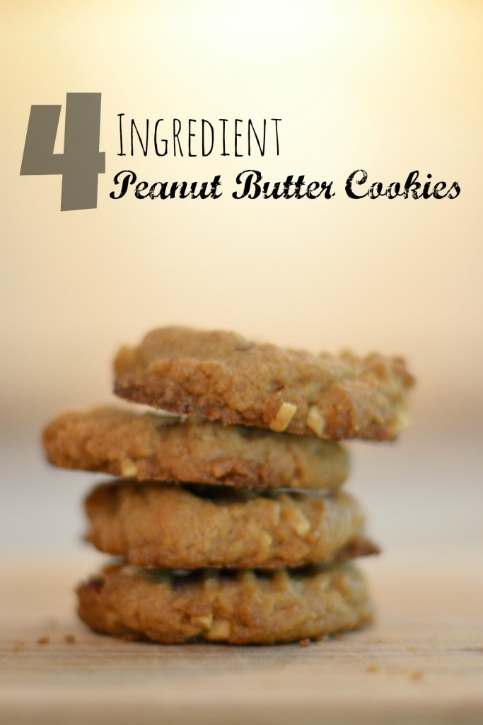 Where is June | 4 Ingredient Peanut Butter Cookies