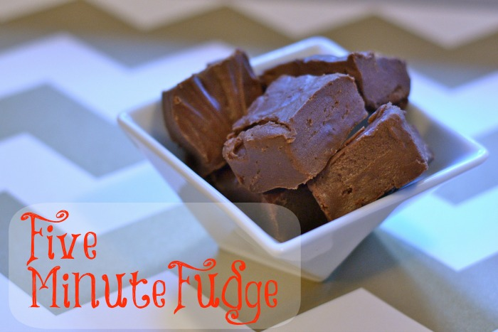 five minute fudge
