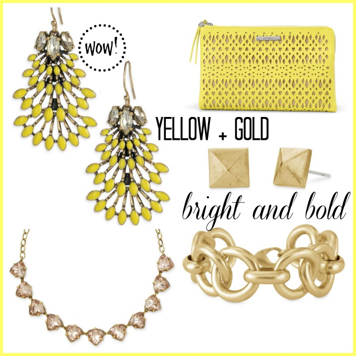 yellow + gold