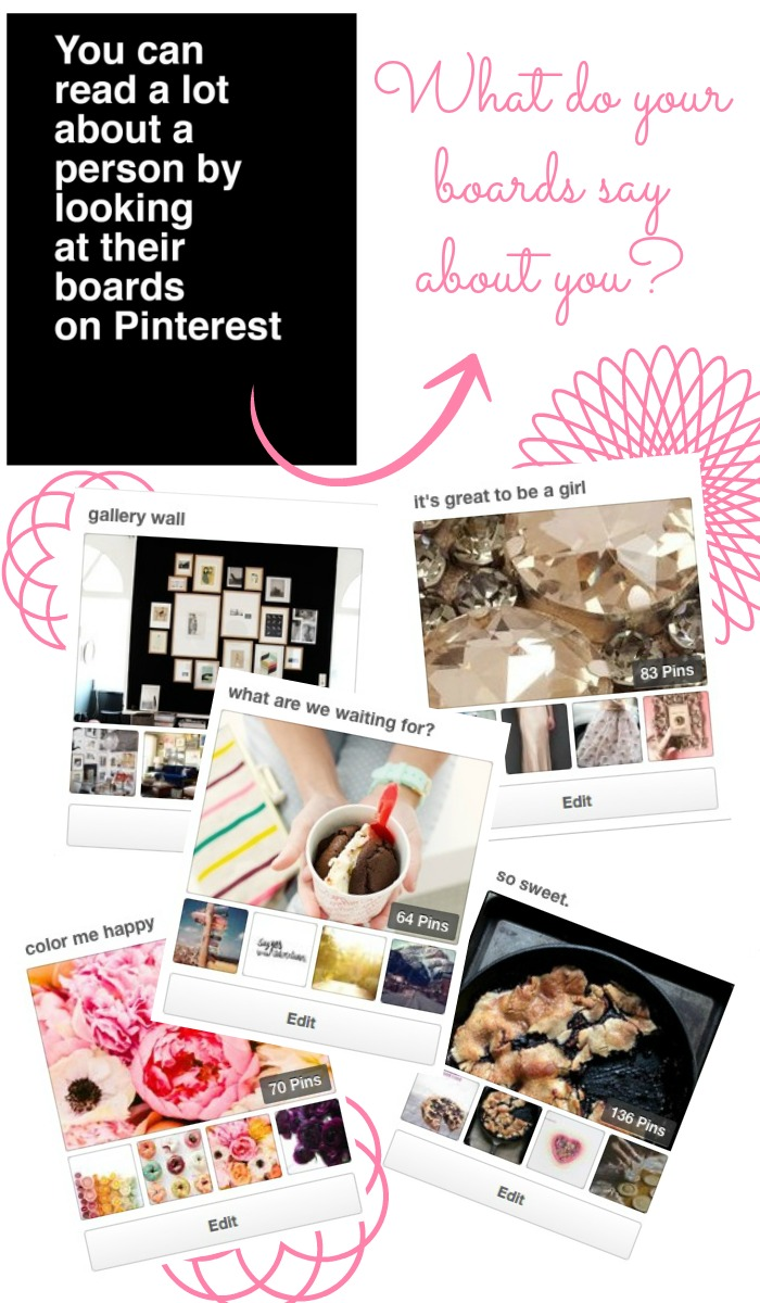 your pinterest boards