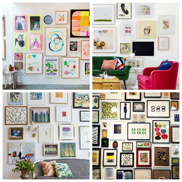 Where is June?| Eclectic gallery wall