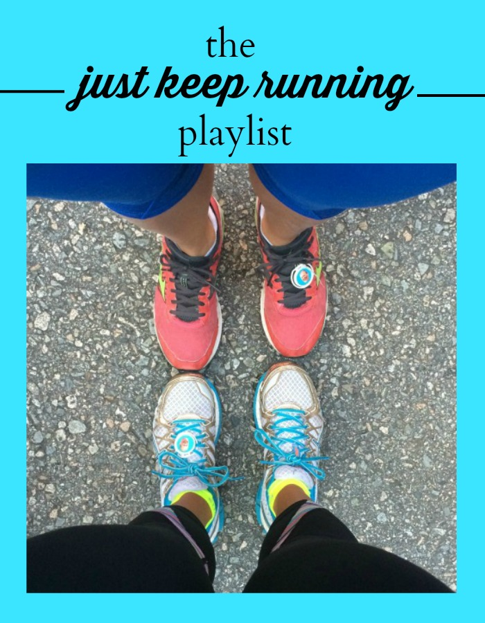 just keep running playlist