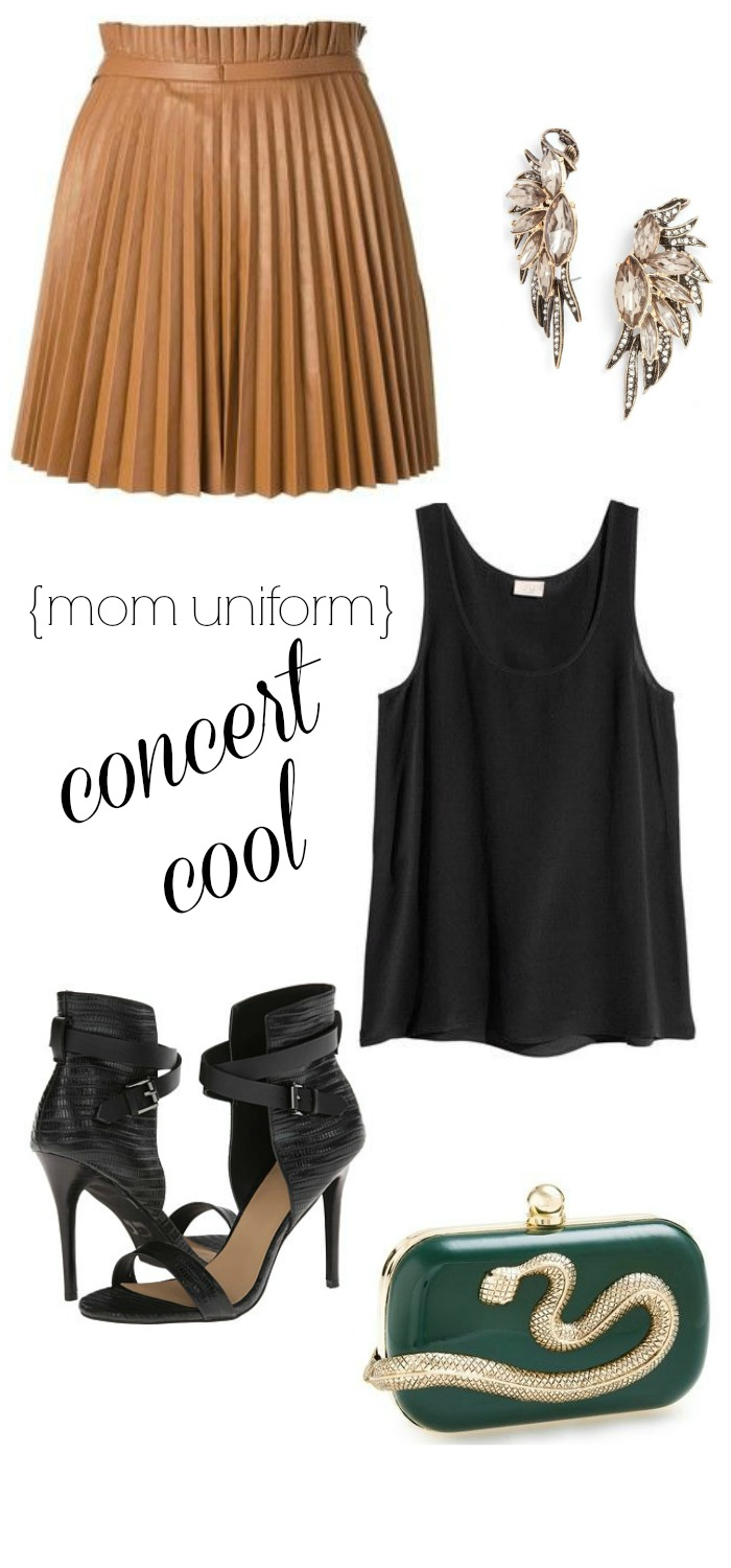 mom uniform concert cool