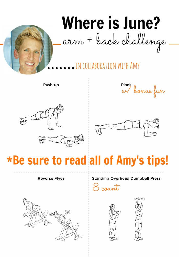 arm and back challenge
