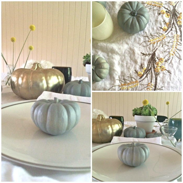 a thanksgiving tablescape | Where is June?