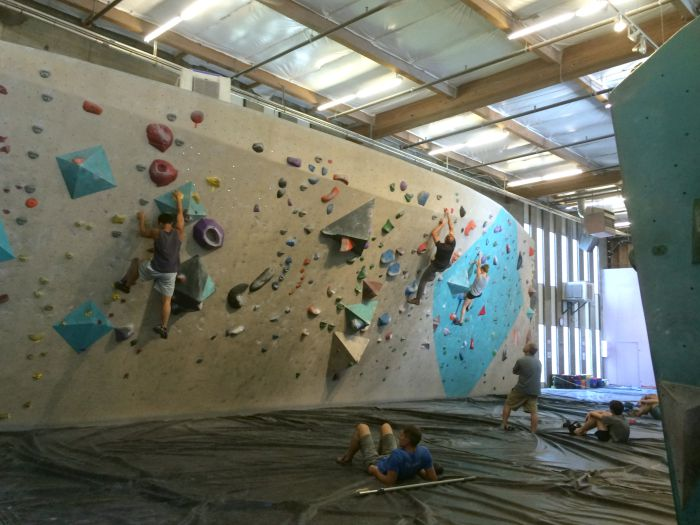 seattle bouldering project | Where is June?