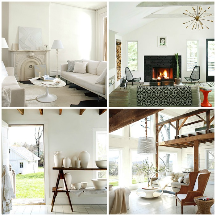 Benjamin Moore Simply White: STRIKING CONTRASTS WITH SIMPLY WHITE