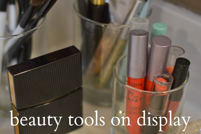 beauty tools on display | Where is June?