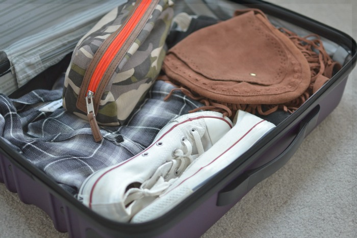 check or carry on luggage | Where is June?