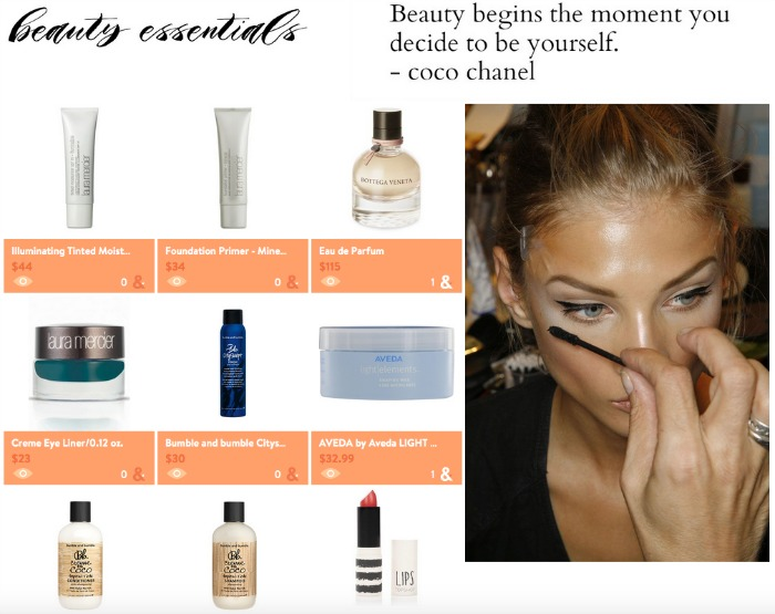 beauty essentials | Where is June?