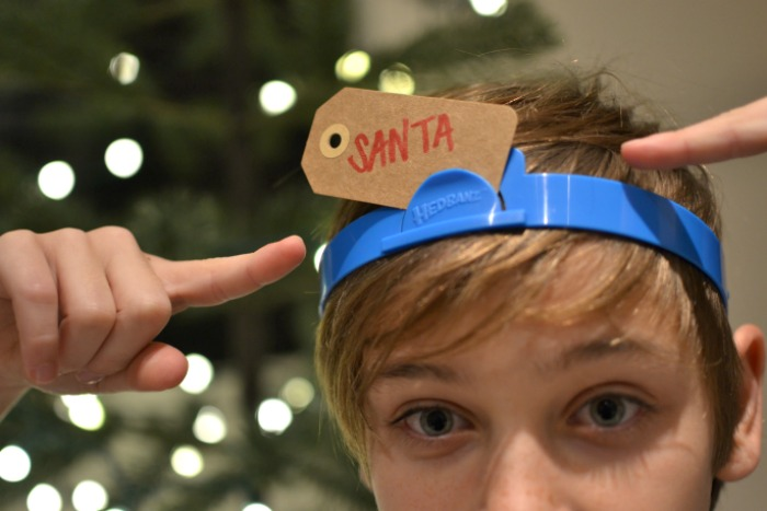 santa headbanz holiday edition | Where is June?