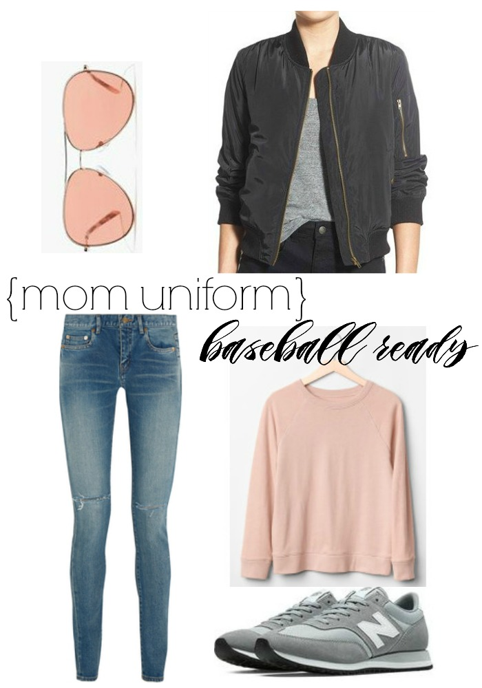 mom uniform baseball ready| Where is June?