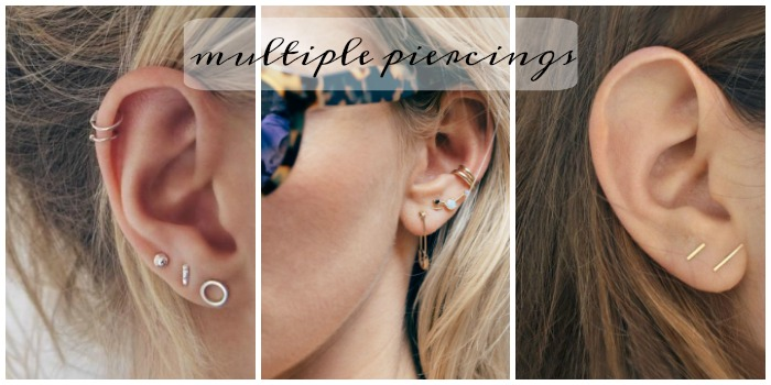 multiple piercings 2