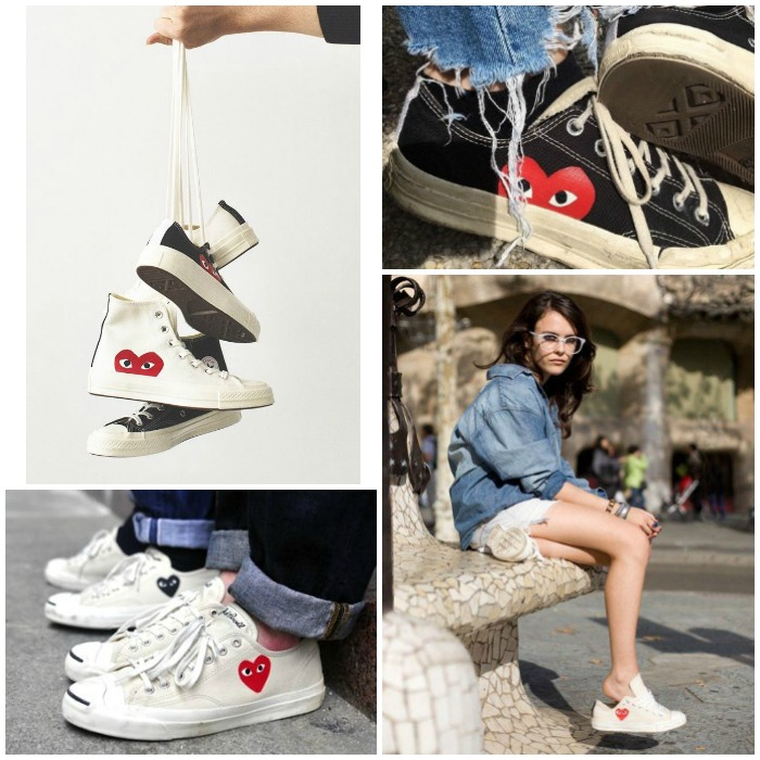 COMME DES GARCONS PLAY CONVERSE | | Where is June?